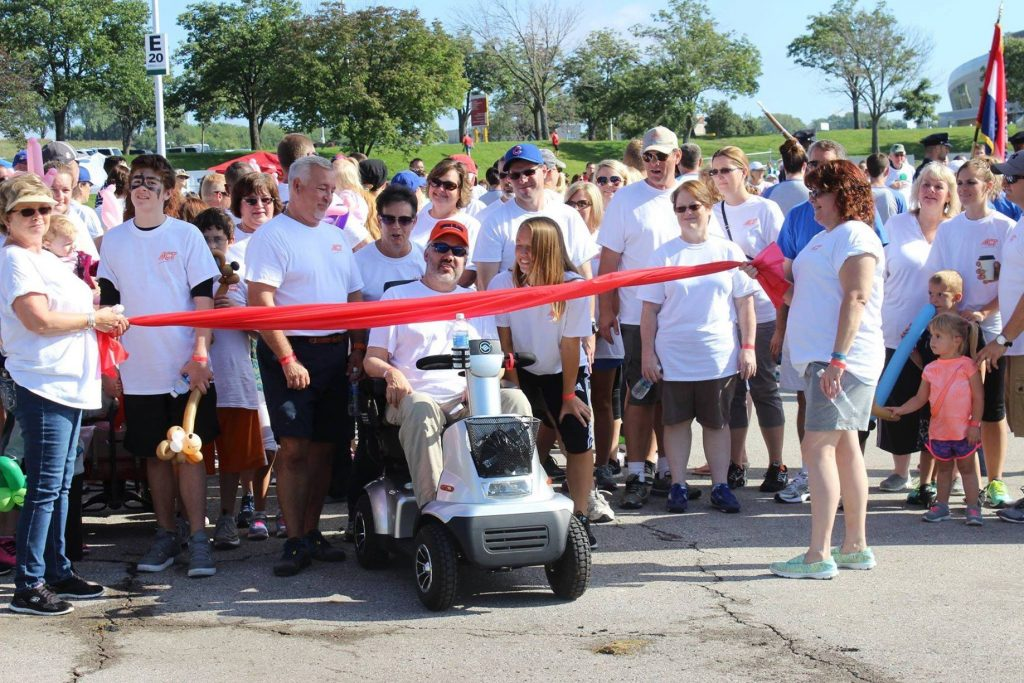 Walk to Defeat ALS® in September 2016